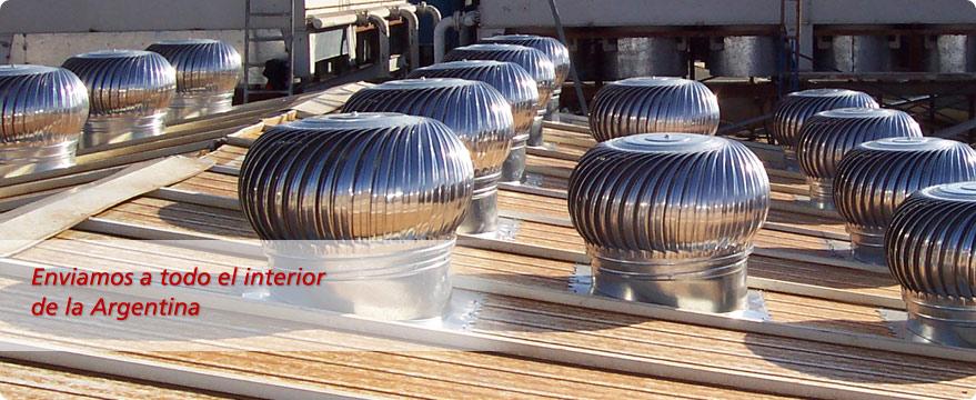 Calculo de extractores - extractores elicos GM